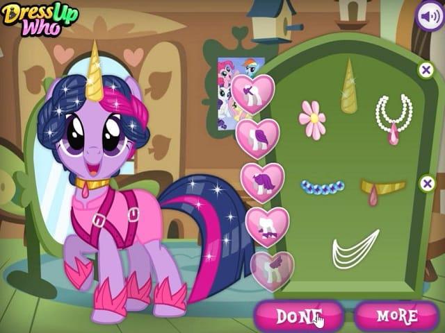 My Little Pony Hair Salon Gra Online Gry Pomu